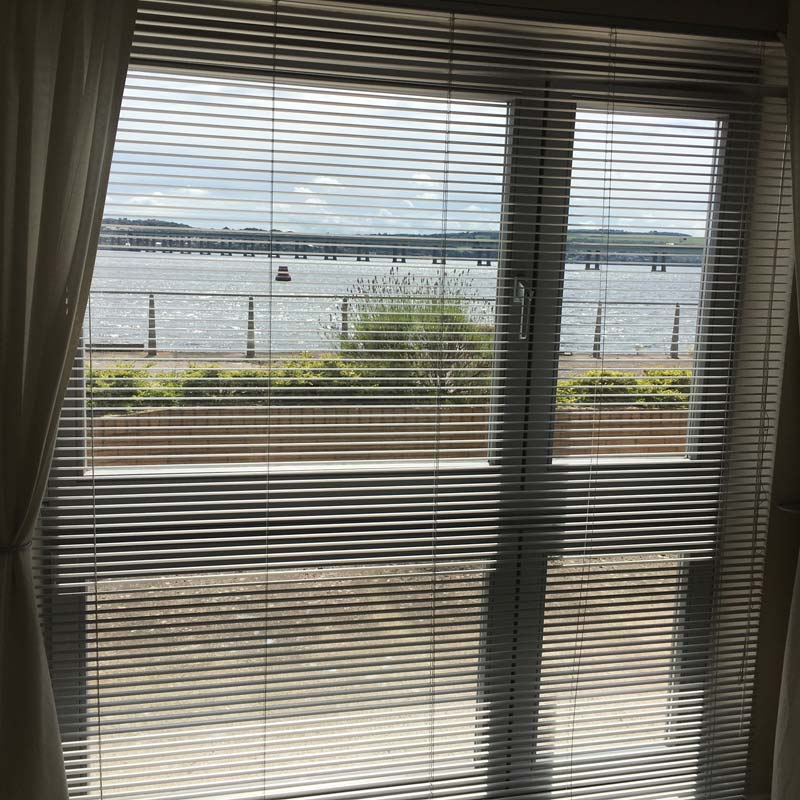 Window view from 3 Marine Parade - self-catering by the River Tay