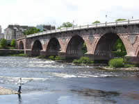 perth salmon fishing on the river Tay