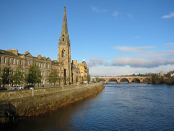 self catering holiday apartments perth Scotland