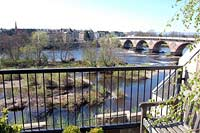 Balcony at River Chambers - self-catering by the River Tay